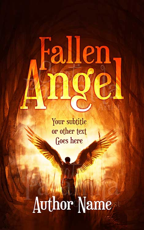 fantasy angel premade book cover art