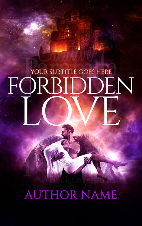 fantasy castle love premade book for sale