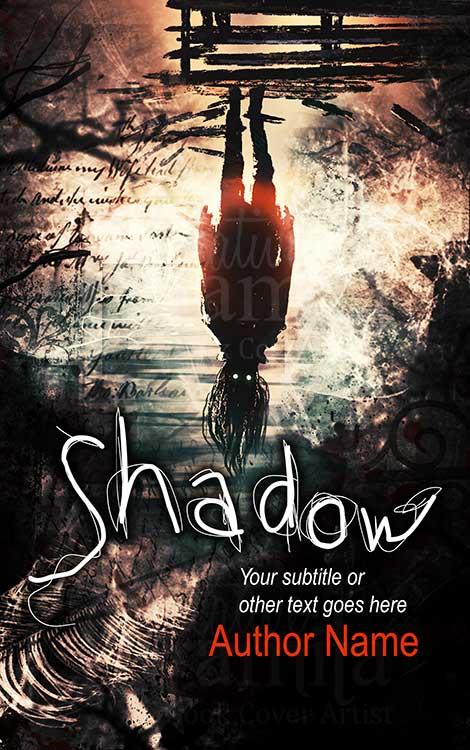 creepy horror premade book cover
