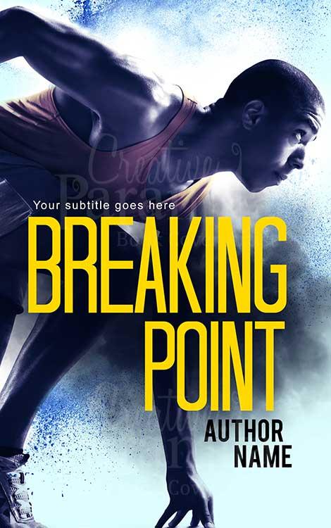 sports run premade eBook cover design