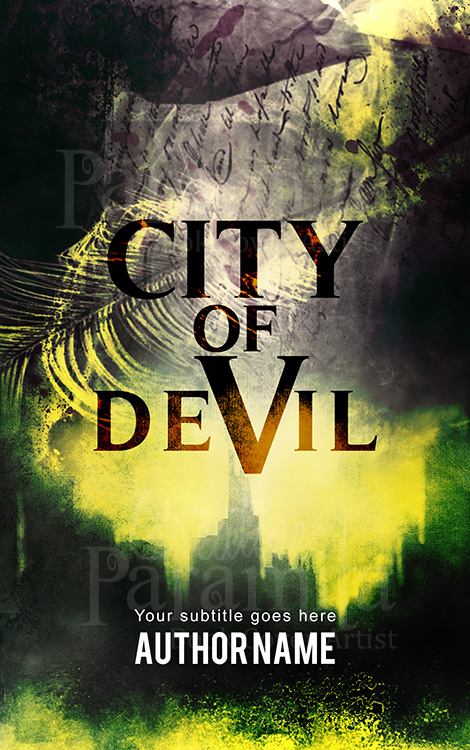 city premade eBook cover design