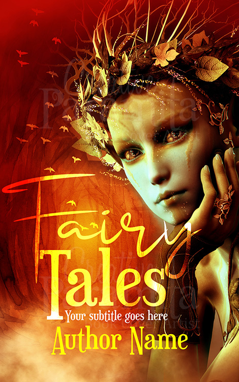 fairy premade book cover design