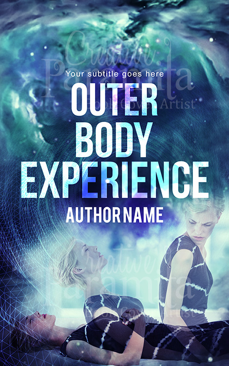 outerbody experience premade book cover design
