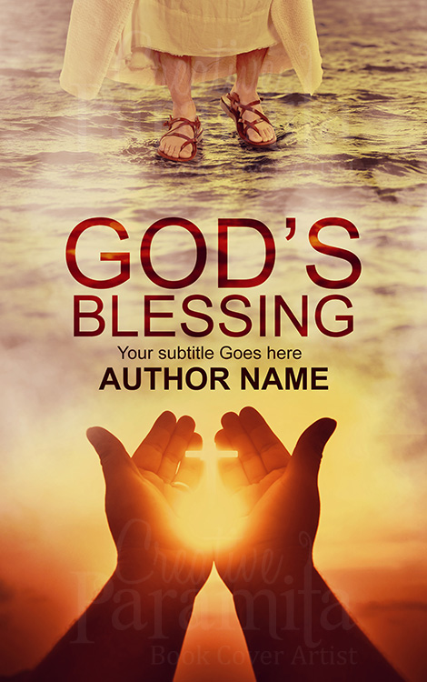 religious premade book cover design