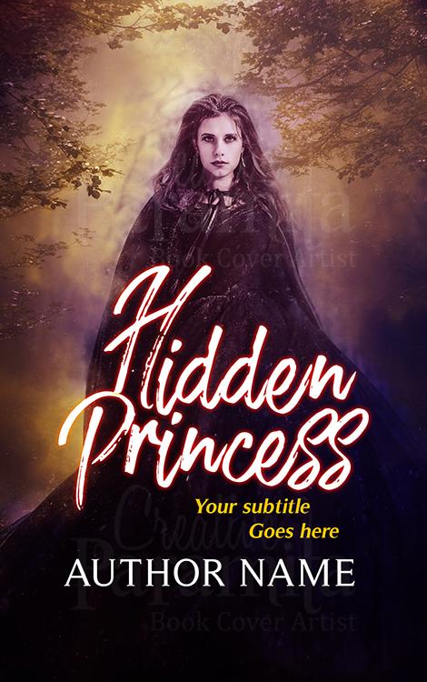fantasy romance premade book cover