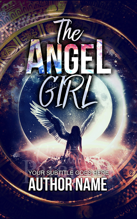 fantasy angel girl book cover
