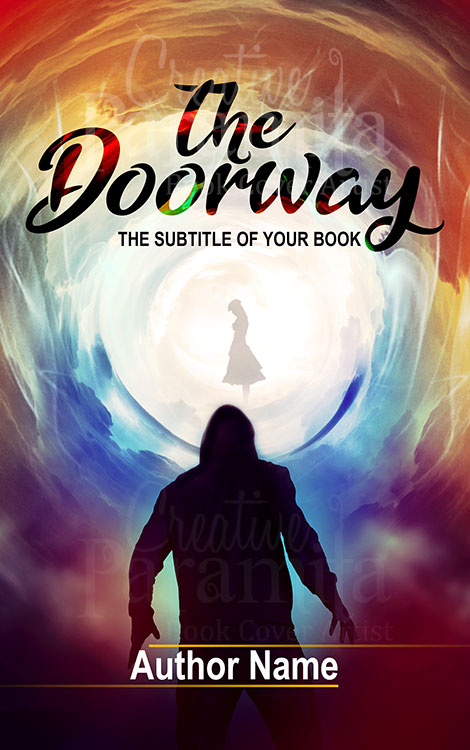 portal gateway premade book cover