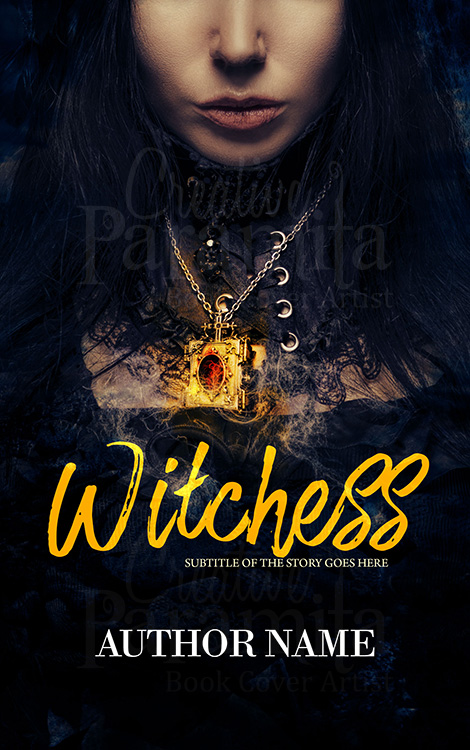 fantasy witches premade book cover for sale