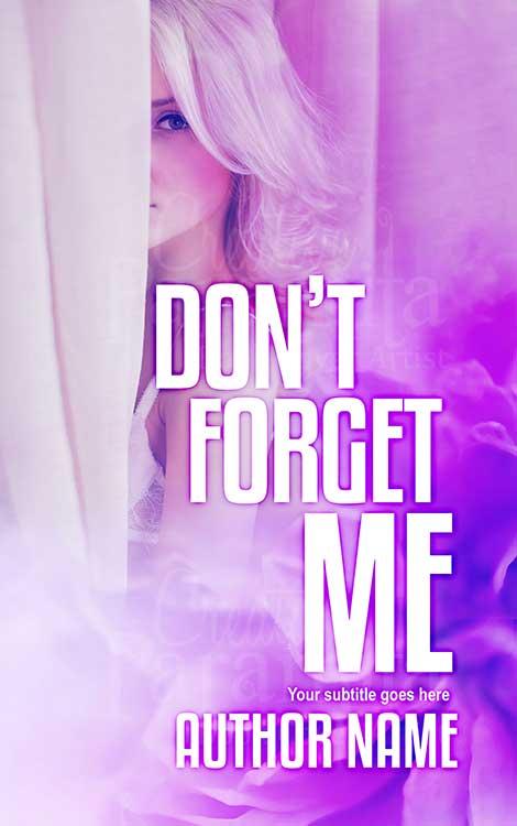 romance drama premade book cover design