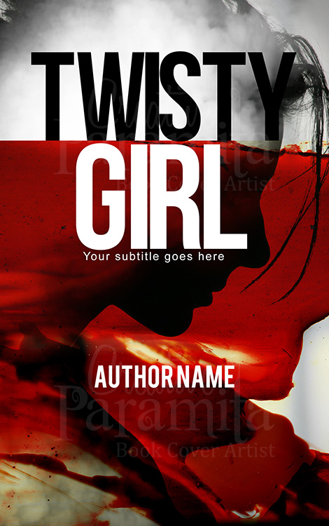 Murder blood thriller premade book covers