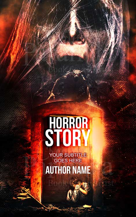 horror lady book cover