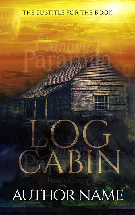cabin book cover design