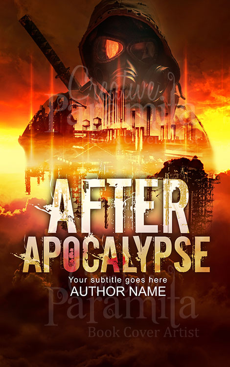 apocalypse city premade cover