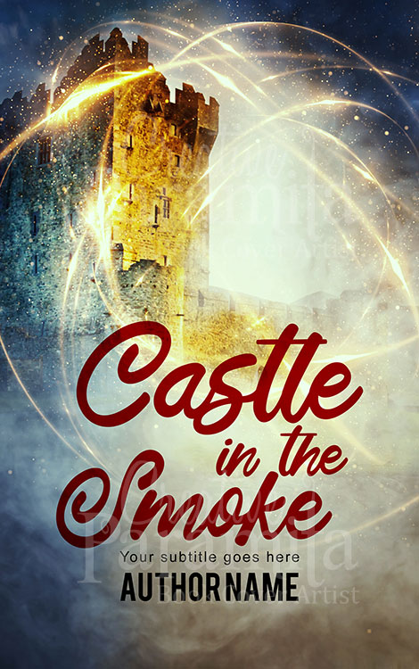 fantasy castle eBook cover for sale