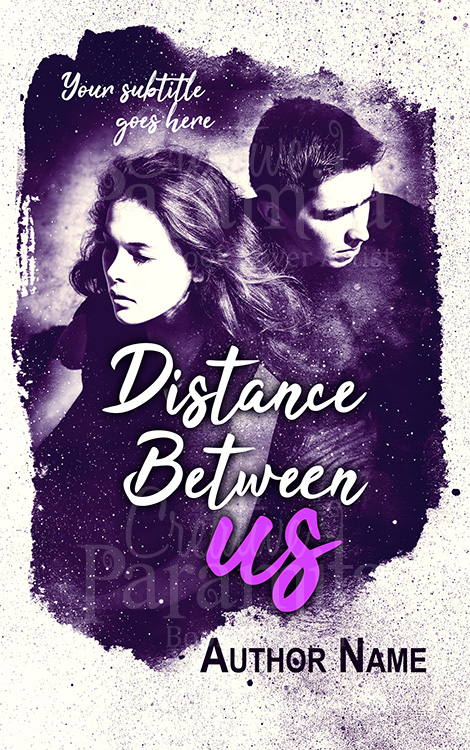 sad romance book cover design