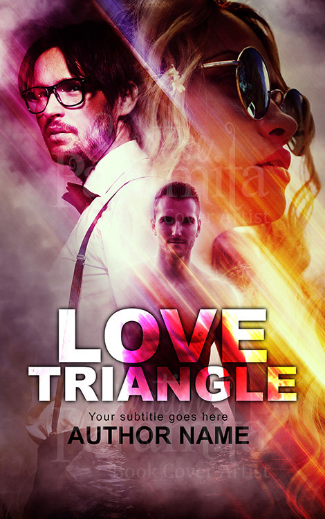 triangle love stories premade eBook cover