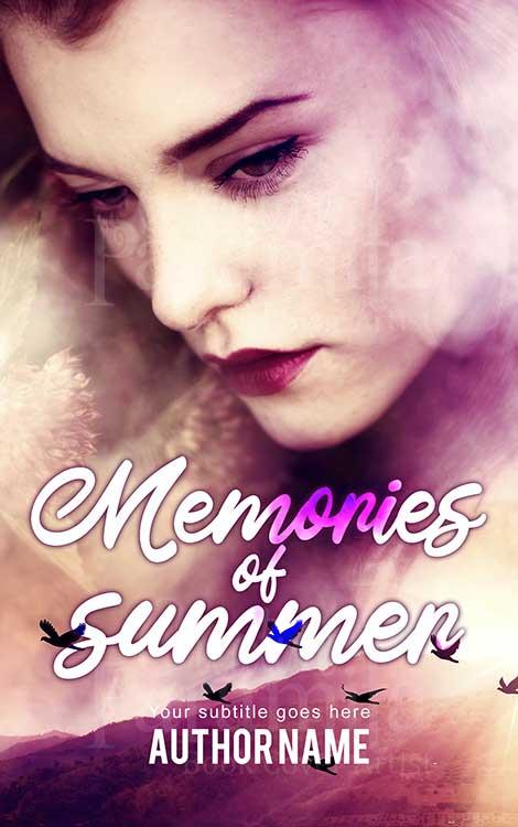 romance drama eBook cover design