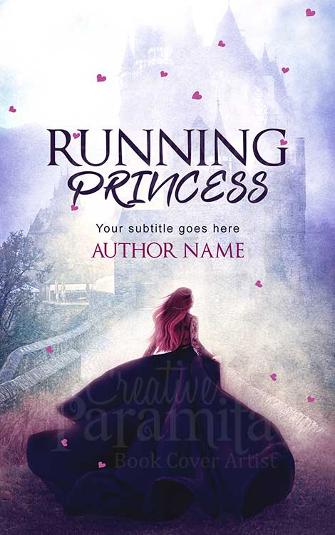 castle princess premade eBook cover
