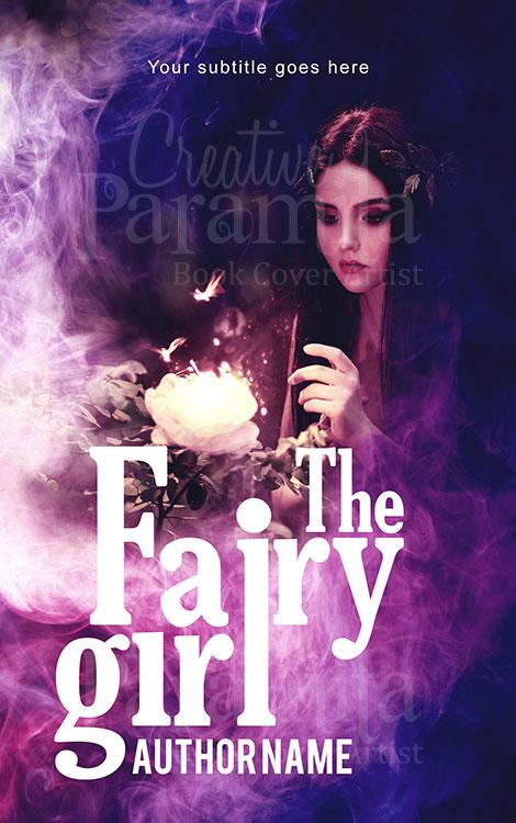 fantasy fairy woman book cover design