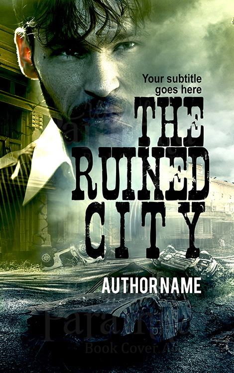 ruined city premade eBook cover