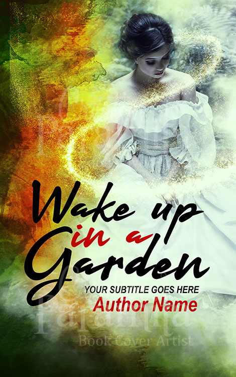 fantasy girl book cover design