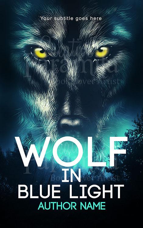 werewolf book cover design