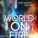 fire world book cover design