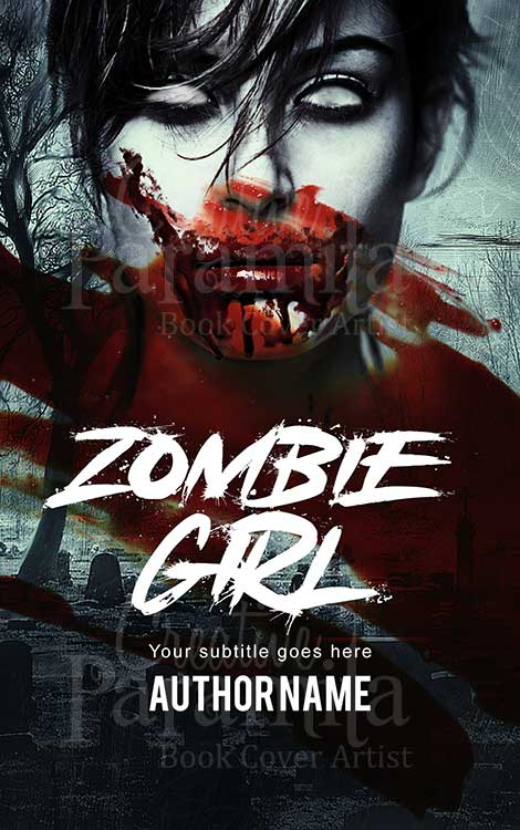 horror zombie premade ebook cover design
