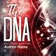 Scifi DNA premade book cover for sale