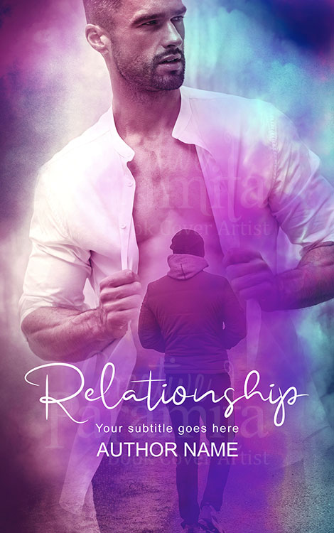 gay romance book cover design