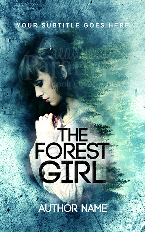 forest lady premade eBook cover design