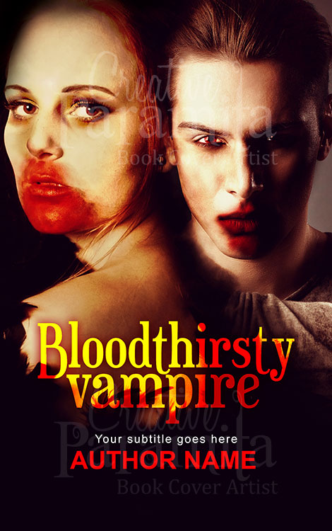 vampire romance book cover