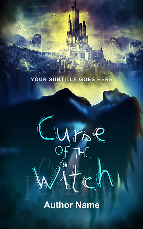 fantasy witch castle book cover