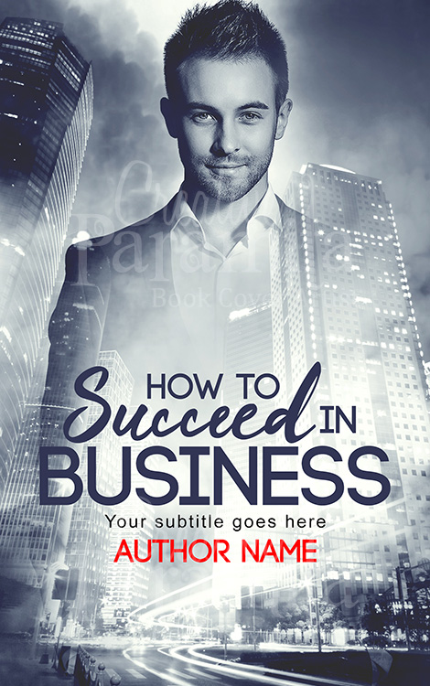 non fiction business book cover design