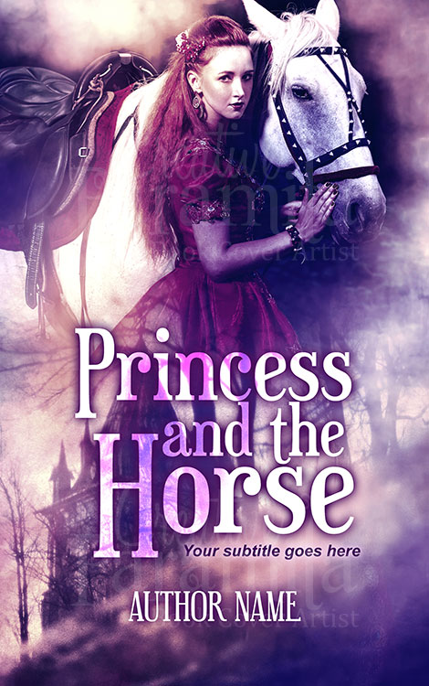 fantasy princess horse book cover