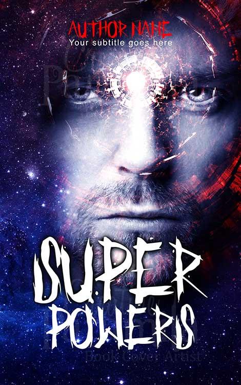 scifi fantasy hero eBok cover