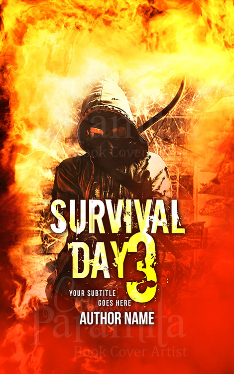 apocalypse premade book cover art