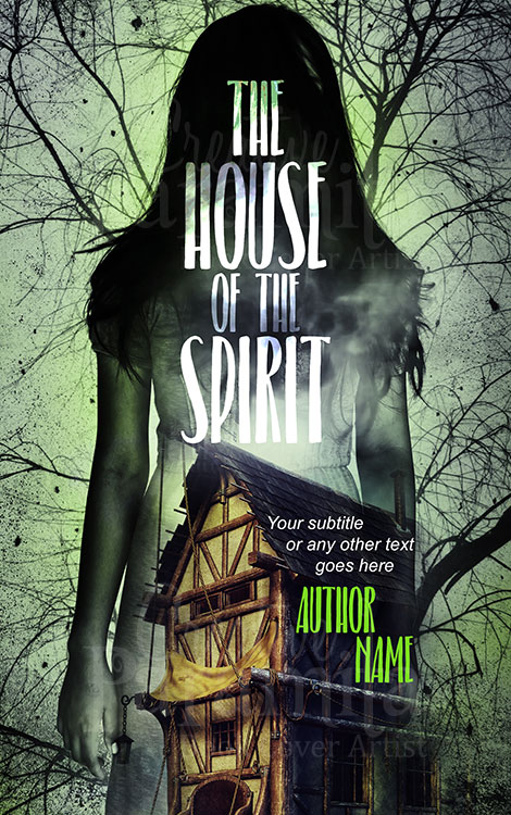 creepy horror spirit book cover