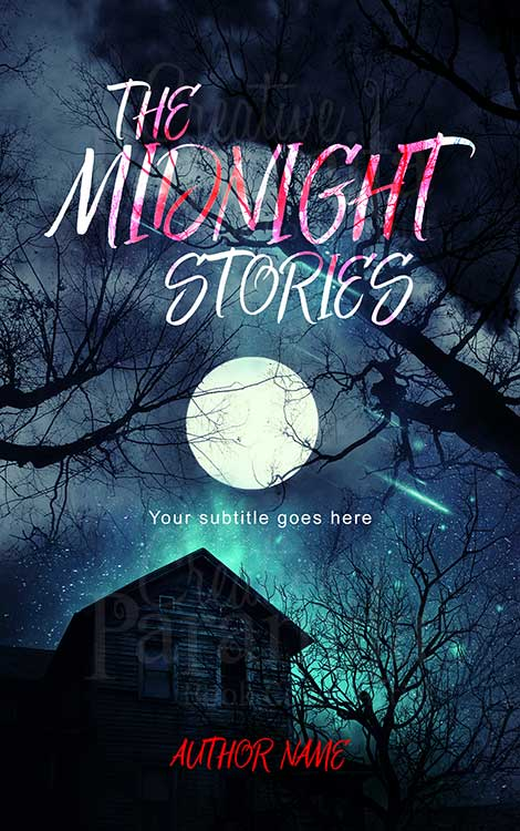 haunted night book cover