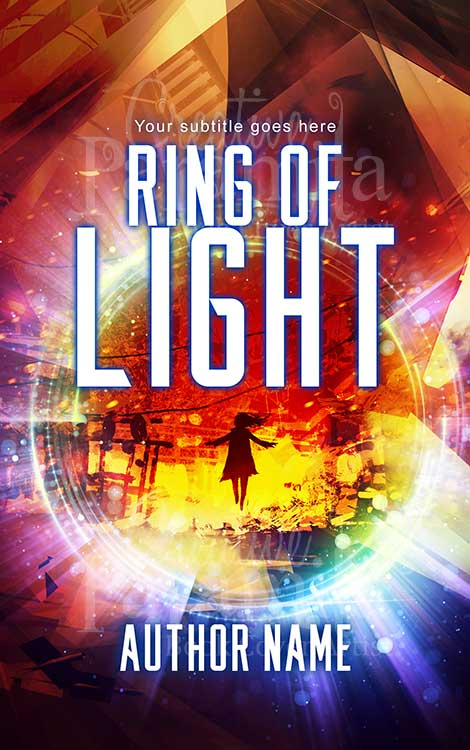 fantasy ring of light, scifi portal book cover