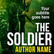 soldier war book cover design