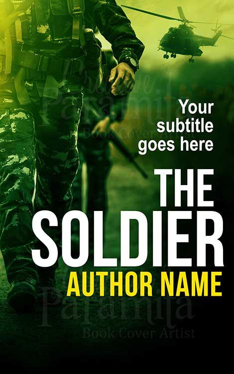 soldier war book cover design