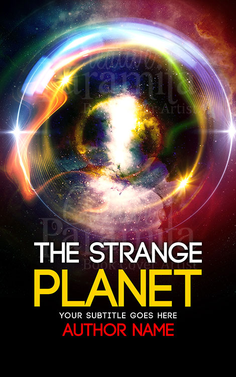 scifi planet alien world book cover