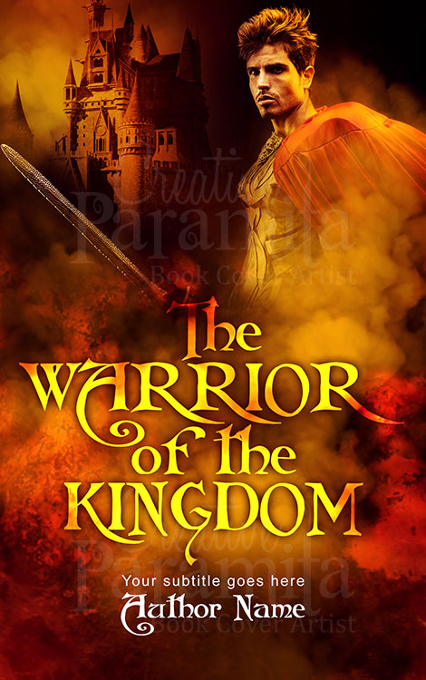 historical fantasy warrior eBook cover