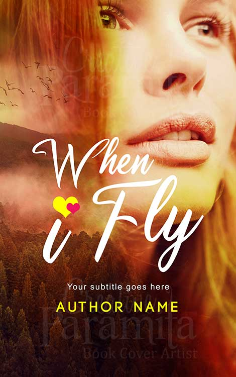 girl face sky premade eBook cover