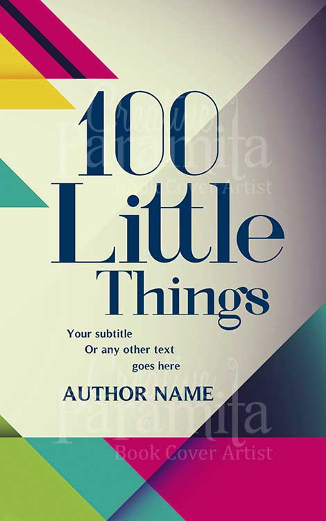 non fiction book cover design