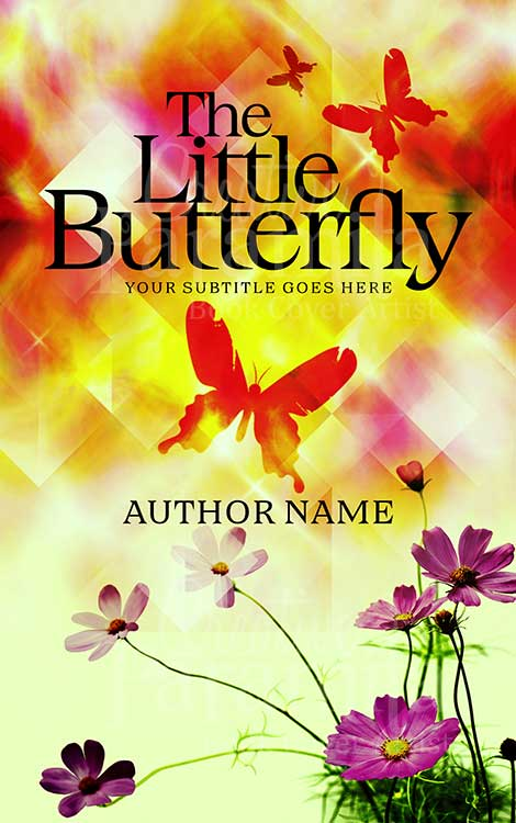 flower butterfly book cover
