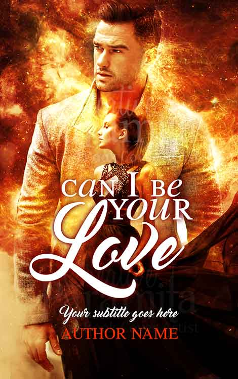 couple romance book cover design