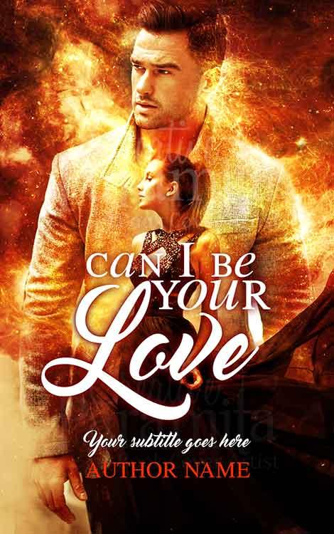couple romance book cover design