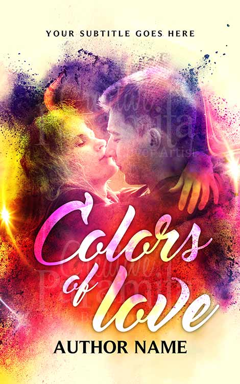 romance colors eBook cover
